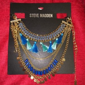Steve Madden tassel necklace